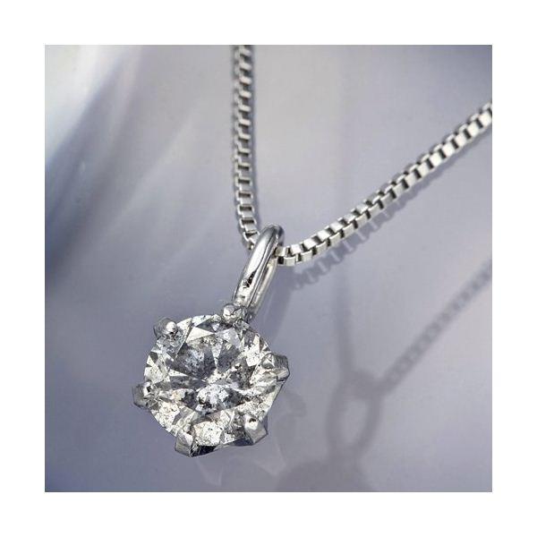 プラチナPt0.1ctダイヤモンドペンダント/ネックレ...