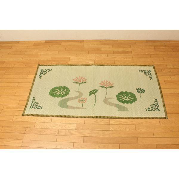 袋織 い草御前(仏前)ござ 『蓮華』 約88×180cm ...
