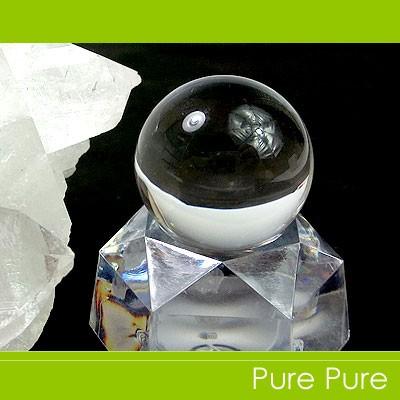 水晶 天然石 置物  水晶 丸玉  天然石 パワースト...