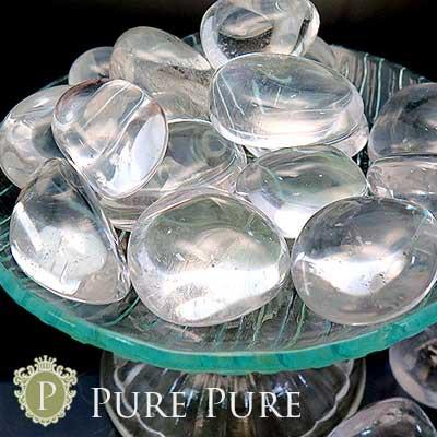水晶 タンブル 置物 天然石 パワーストーン 浄化 ...