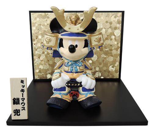 (吉徳)ミッキー武者 183047(送料無料)(五月人形...