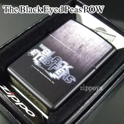 zippo ジッポー/ジッポ The Black Eyed Peas POW ...