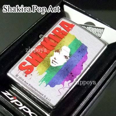 zippo ジッポー/ジッポ Shakira Pop Art 内部のユ...