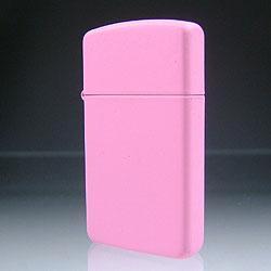 【ZIPPO】ジッポ/ジッポー Slim Pink Matte スリ...