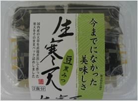 生寒天 豆黒みつ(155g) 太洋 夏季限定商品