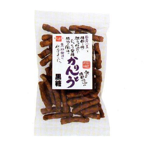健康フーズ 酵母仕込みかりんとう(黒糖) 130g
