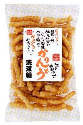 健康フーズ 酵母仕込みかりんとう(洗双糖) 130g...