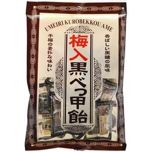 タクマ食品 梅入黒べっ甲飴 90g