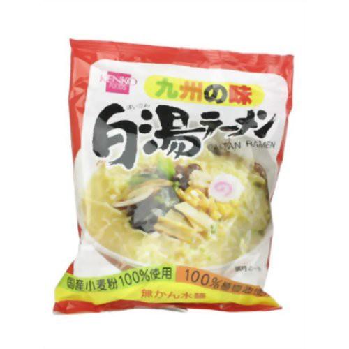 健康フーズ 白湯ラーメン(無かん水麺) 103g 10袋