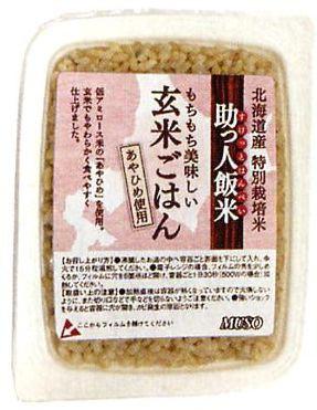 ムソー   助っ人飯米・玄米ごはん  160g