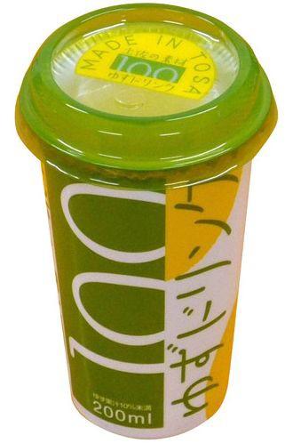 高知アイス ゆずドリンク カップ (200mlX12本) 6...