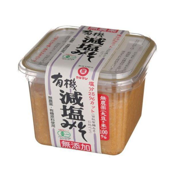 マルマン 有機減塩みそ 500g 内モンゴル産原料(...
