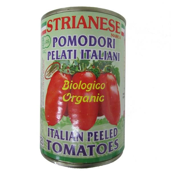 ストリアネーゼ 有機トマト缶 ホール 400g