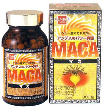 健康フーズ MACA(マカ)300粒