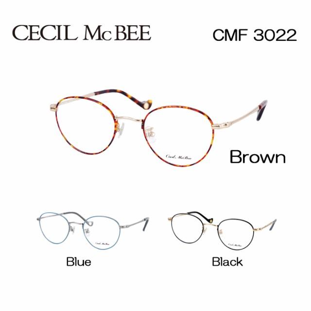 セシルマクビー めがね 眼鏡 CECIL McBEE CMF-302...