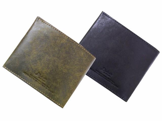 二つ折り財布(小銭入れあり) Dakota BLACK LABEL ...