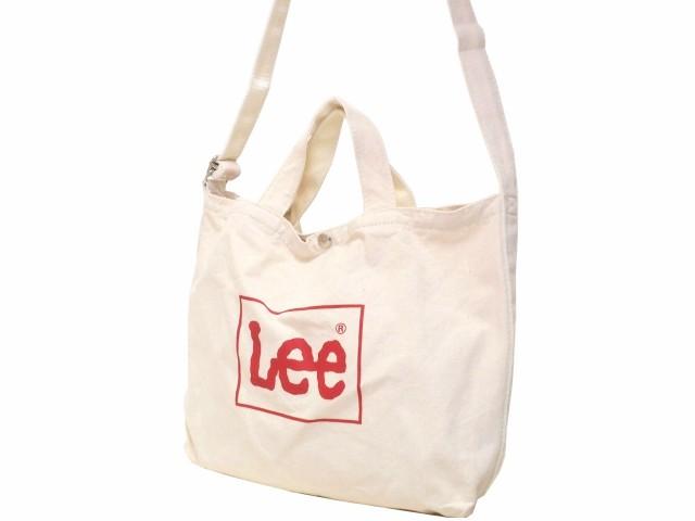 Lee リー 2WAYトートバッグ 2WAYショルダーバッグ...