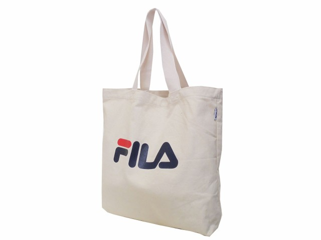 FILA フィラ トートバッグ 綿 47×44cm 7575