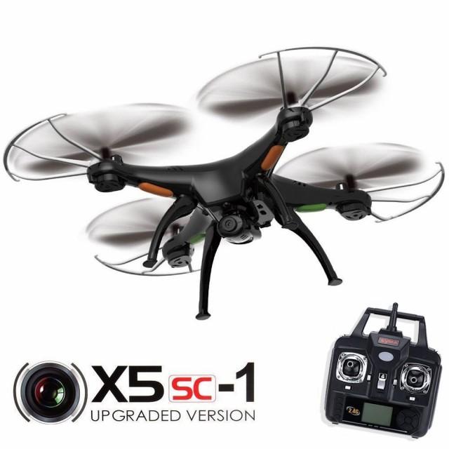 Syma X5SC RC ドローンと 2.0 mp カメラ 2.4 g 4 ...