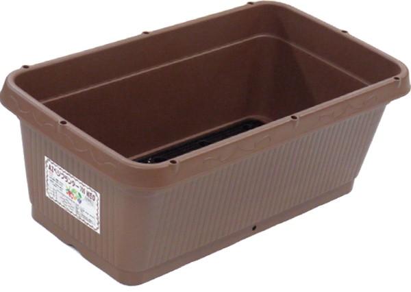 【国産】AZベジプランター700 NEO (茶) 野菜プラ...