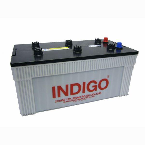 インディゴバッテリー 大型車用 210H52 ...
