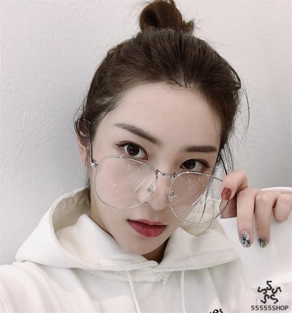 [55555SHOP]芸能人愛用の眼鏡   伊達メガネ   ...