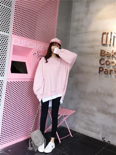 [55555SHOP]韓国ファッション 女兼用 トップス 韓...