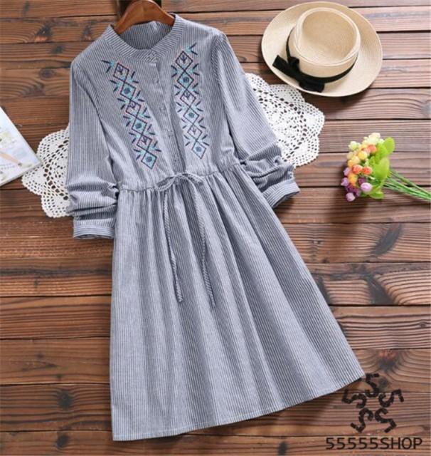 [55555SHOP]韓国ファッションガーリー?レトロ レ...