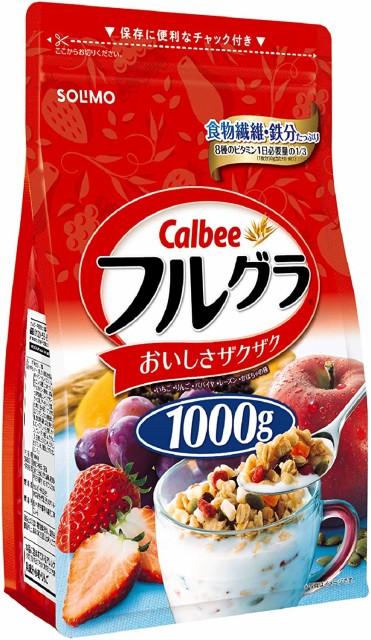 SOLIMO カルビー フルグラ 1000g×6袋