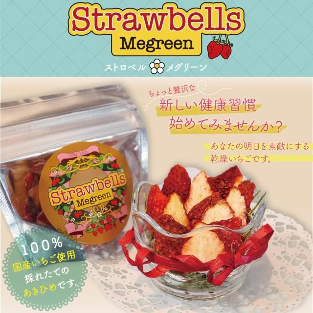 ストロベル 10g 原料はイチゴだけ 自社農場で...