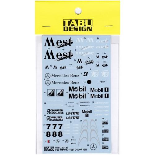 【TABU DESIGN/タブデザイン】TABU20129 タミヤ 1...