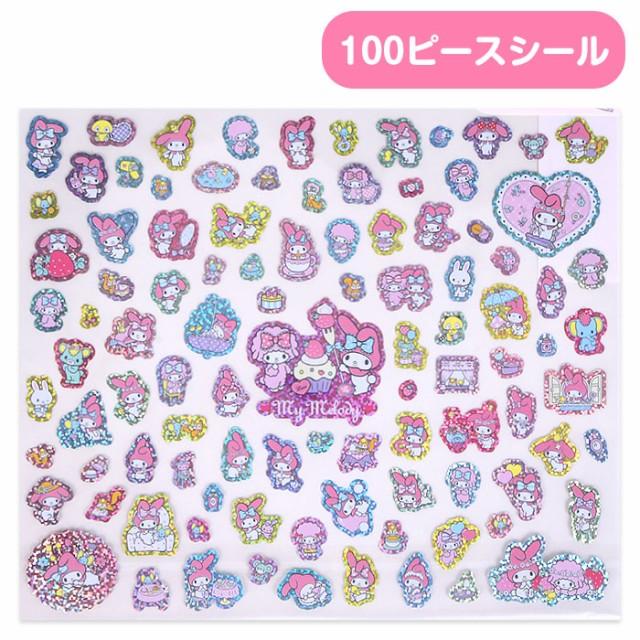 マイメロディ 100ピースシール☆サンリオ キュー...