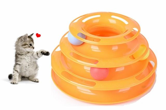 猫おもちゃ オレンジ