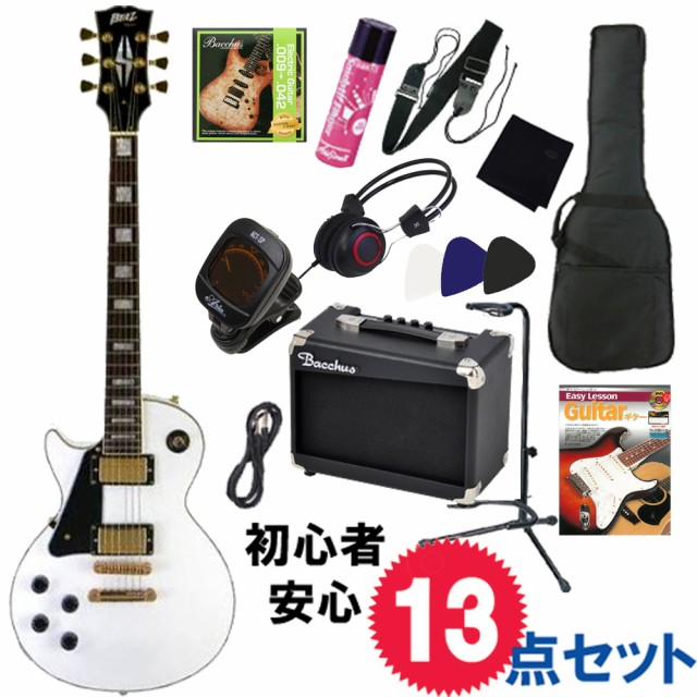 レフトハンド/左利き用・エレキギター入門13点セ...