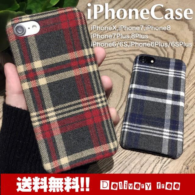 【送料無料】 チェック柄 iphone ケース iphone7 ...