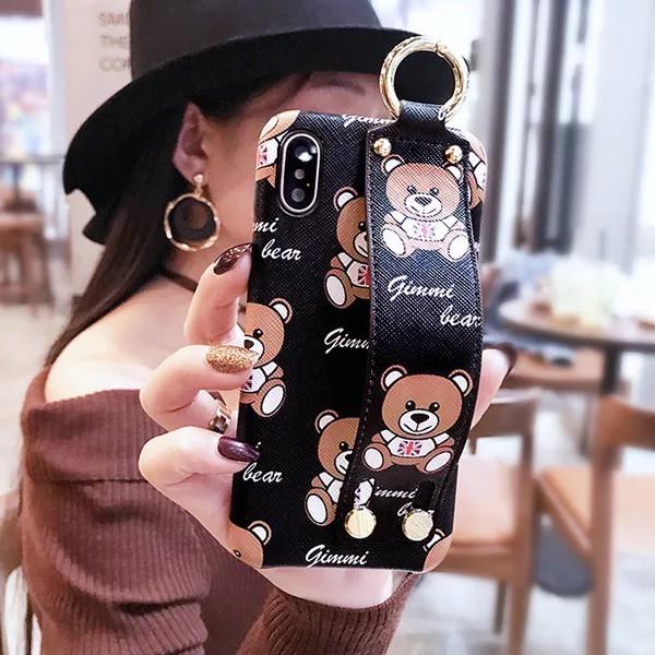 iPhonexケースiphone10アイフォン7可愛い熊人気キ...