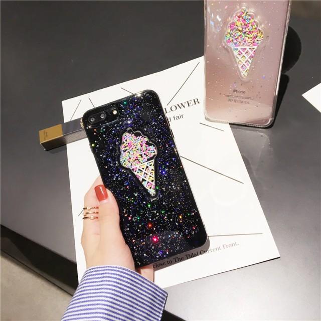iPhone7 iPhone7Plusスマホケースアイスクリーム ...