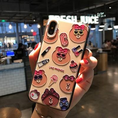 iPhonex iPhone10スマホケース iPhone7ケース 3D...