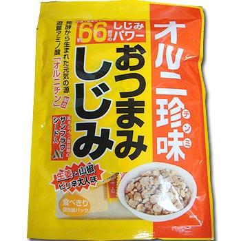 おつまみしじみ 67g入 生姜と山椒のピリ辛大人味...