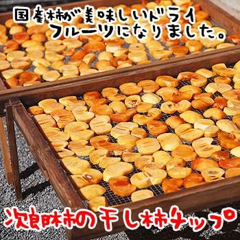 干し柿 チップス70g 無添加 ゆうメール便お...