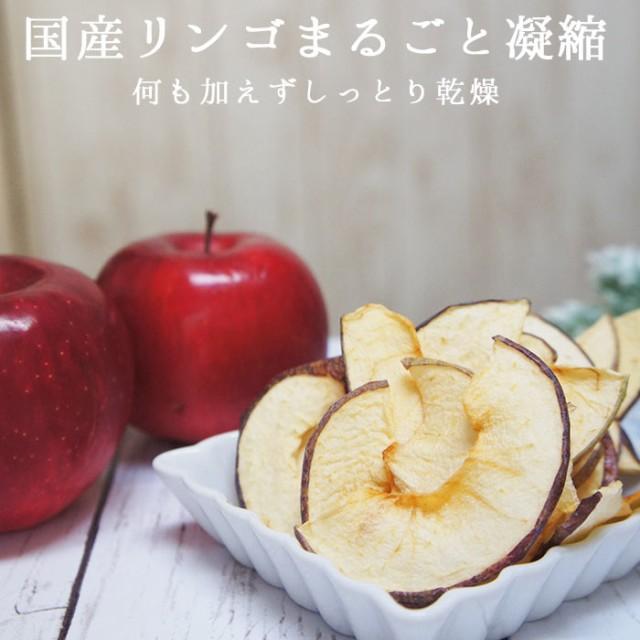 ドライフルーツ 国産 りんごチップス 20g メール...