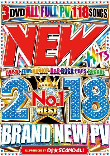 New Hits 2018 No.1 Best / DJ☆Scandal!