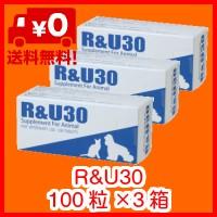 R&U30 100粒×3 共立製薬 犬猫用 牛越生理学研究...