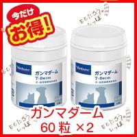 ガンマダーム 60粒×2 ビルバック 犬猫用健康補助...