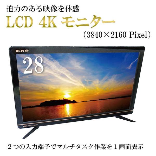 28インチ【4K LCDモニター】