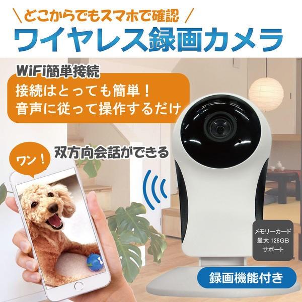 【送料無料】赤外線搭載【見守りWi-Fiネットワー...