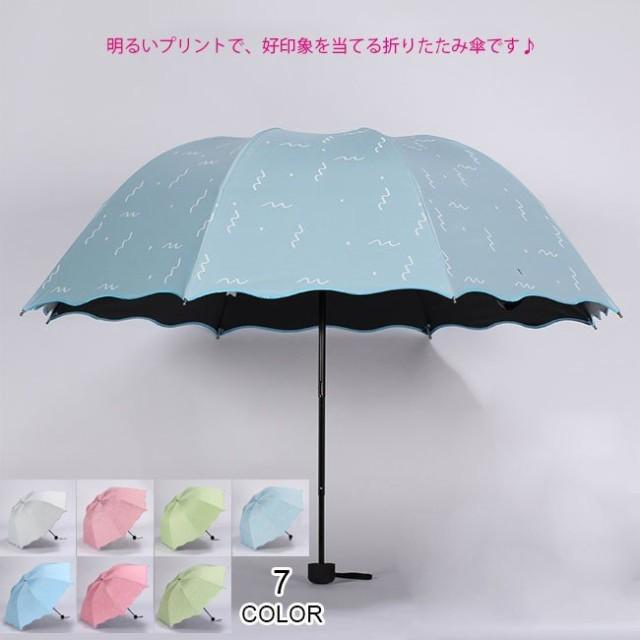 送料無料携帯用 折りたたみ傘 晴雨兼用 8本骨 雨...