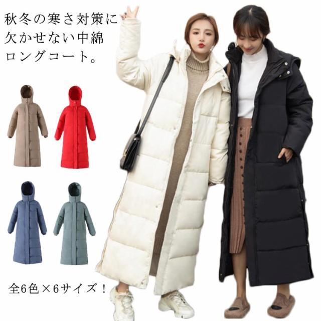 全6色×6サイズ!マキシ丈コート 秋冬物 ロングコ...