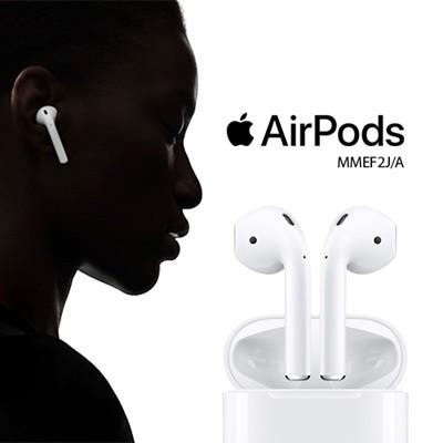 Apple アップル AirPods (エアポッズ) MMEF2J/A ...