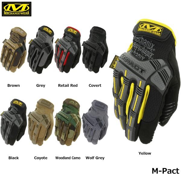 【Mechanix Wear/メカニクスウェア】 M-Pact 品...